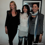 WWW.ENTSIMAGES.COM -     Kate Moss, Debbi Clark and Sadie Frost at    Debbi Clark: an exhibition of portraits - private view at The Strand Gallery, 32 John Adam Street, London May 8th 2013                                                   Photo Mobis Photos/OIC 0203 174 1069