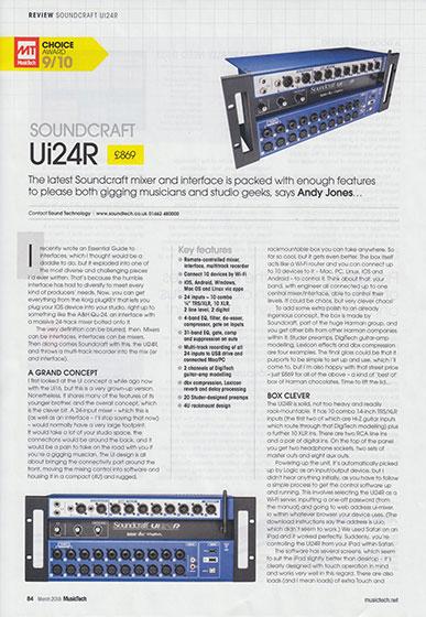 Ui24R MusTech Mag 560