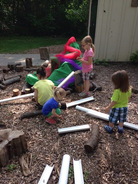 Inside Outside Michiana Loose Parts Nature Play Ramps