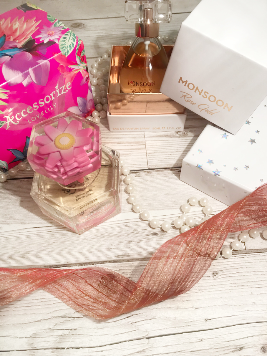 Monsoon Rose Gold And Accessorize Love Lily Perfume Sophie Scribbles