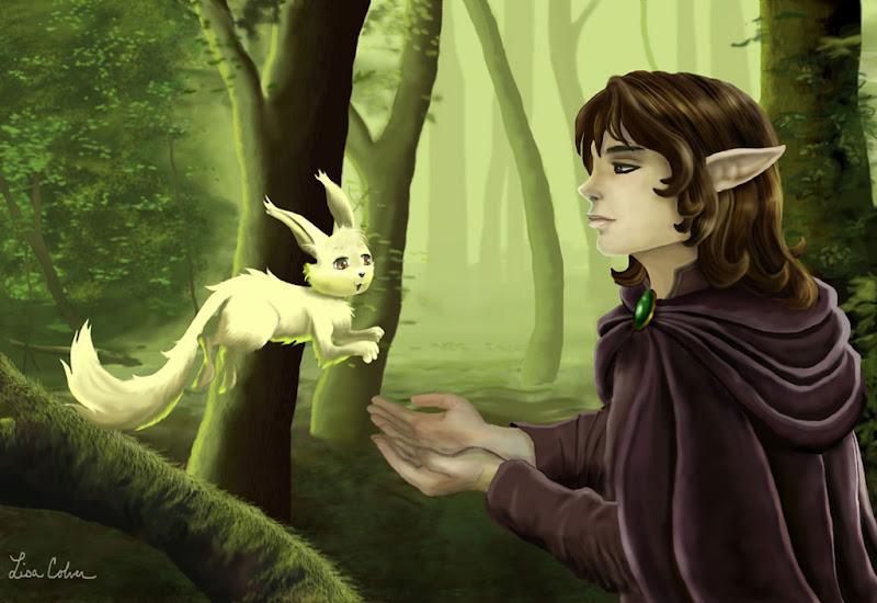 Elf And Squirrel, Spirit Companion 4
