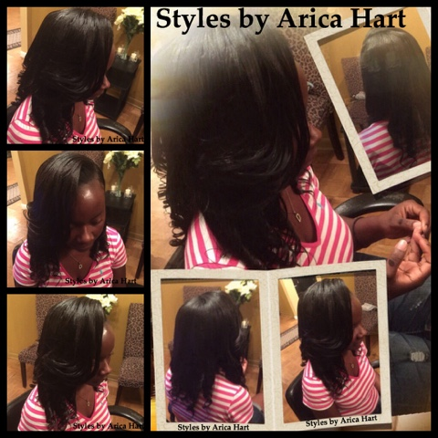 Extentions, weave, sewin, protective styles, hairstyles