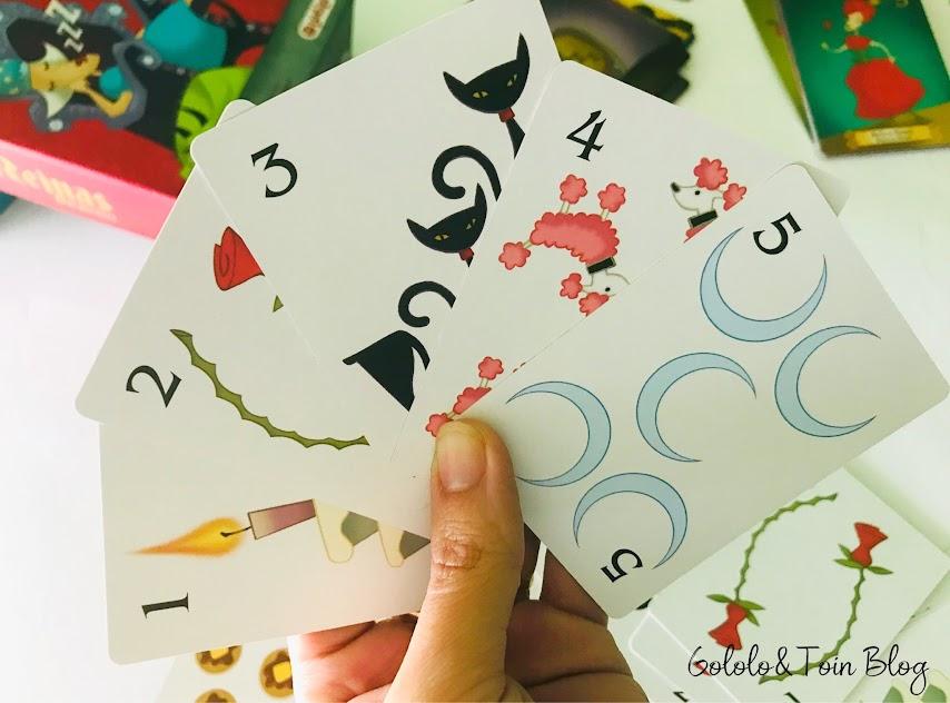 Juegos de cartas para niños Reinas Durmientes