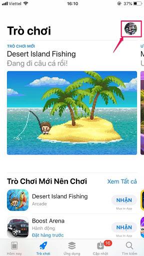hướng dẫn chuyển vùng quốc gia App Store