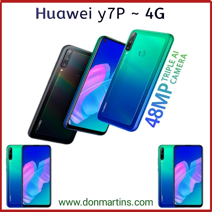 Huawei y7P features and price