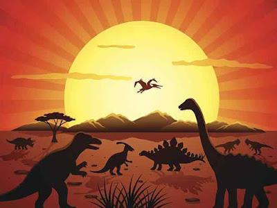 शुवुइया रेगिस्तान   एक रात का डायनासोर जो 70 मिलियन साल पहले रहता था