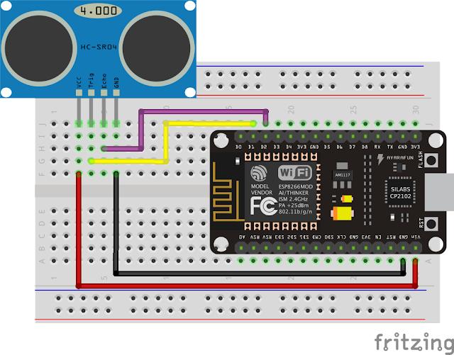 มาเล่น Ultrasonic Sensor กับ NodeMCU Dev Kit กัน « Thai Open