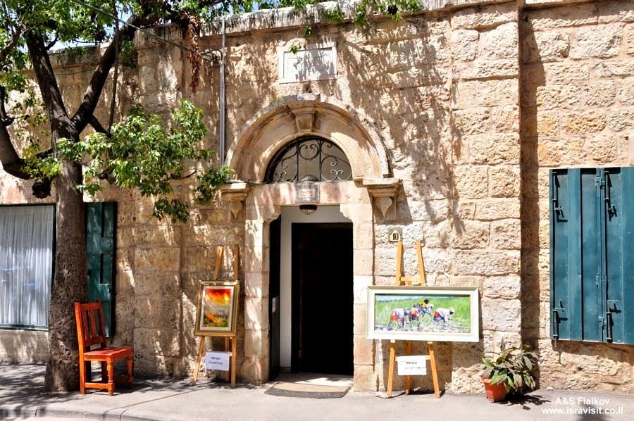 Художественные салоны в Эйн Карем. Экскурсия монастыри в Иудейских горах. Гид по монастырям в Иудейских горах Светлана Фиалкова.