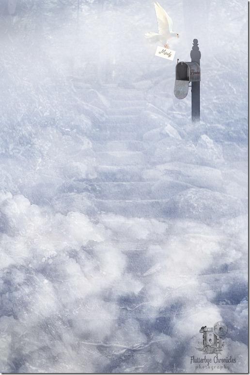 Letter To Heaven (©Jenny @ Flutterbye Chronicles)