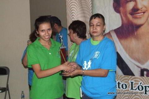 Lucero Villarreal Flores ganó en la categoría 15-29 años femenil