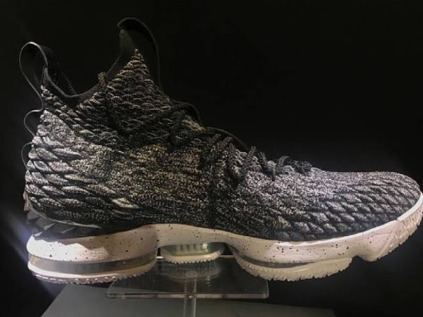 First Look at Nike LeBron 15 with BattleKnit amp BattleMax