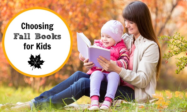 Fall book recommendations for children age 2 and up