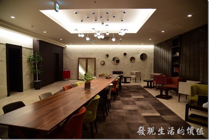 京都格蘭小姐飯店(GRAN Ms KYOTO)的大廳。