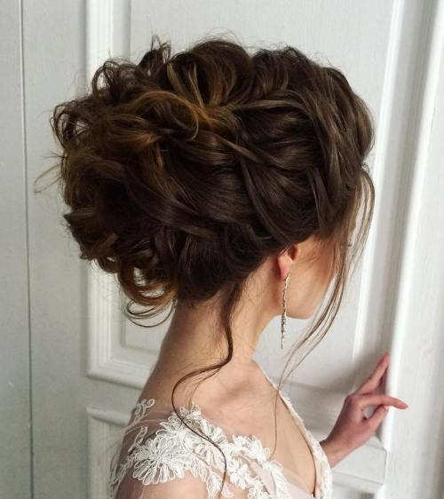 Top Smart Wedding Hair Updos In Current Year For Brides 2017-2018 4