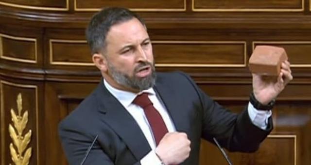 Santiago Abascal. Congreso