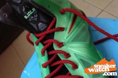 nike lebron 10 gr jade china 3 04 Nike LeBron X Cutting Jade   New Pics & Release Date