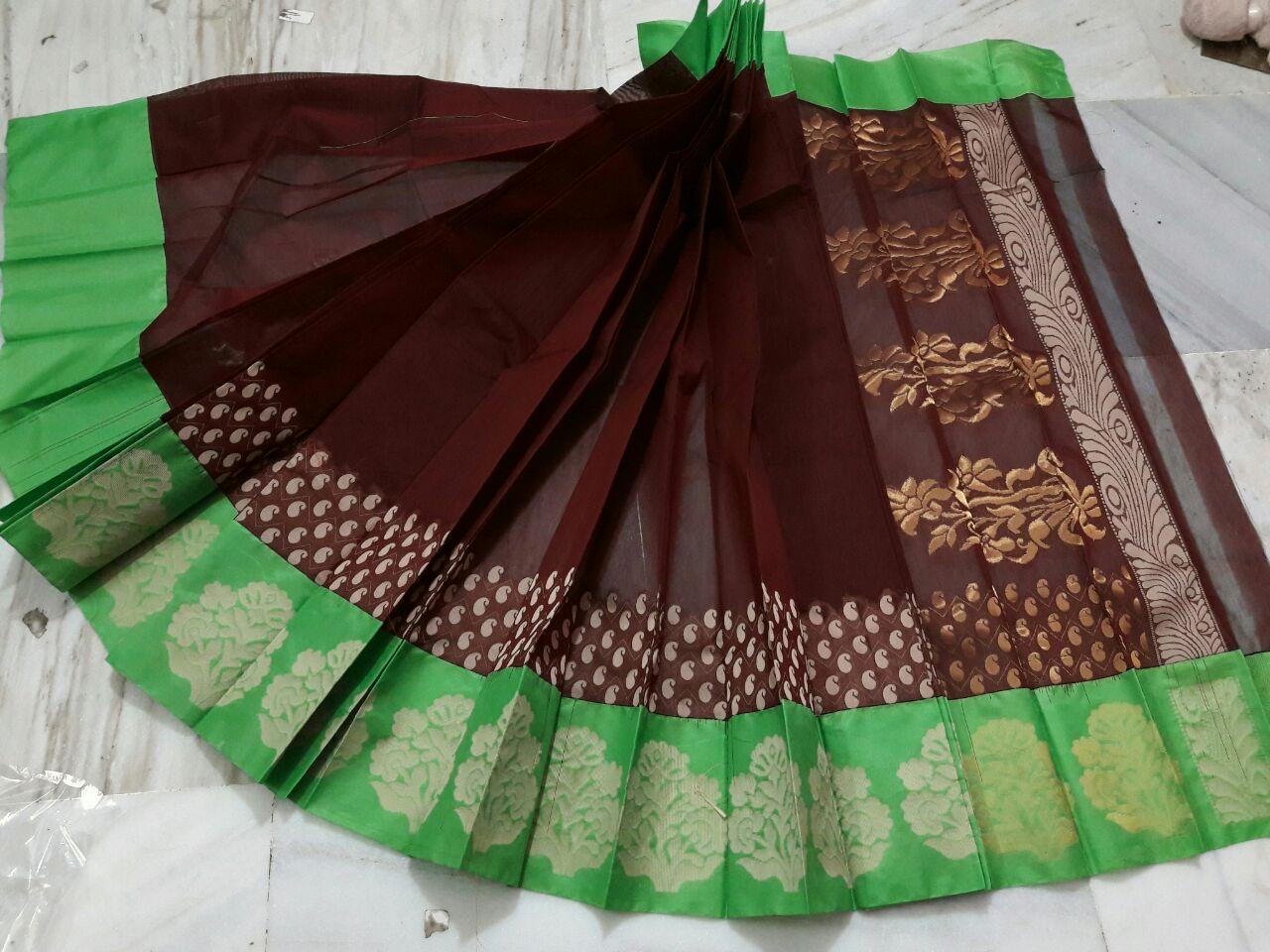 Kuppadam Light Weight Pattu Saree @ Rs  3300   Koyal Fashions