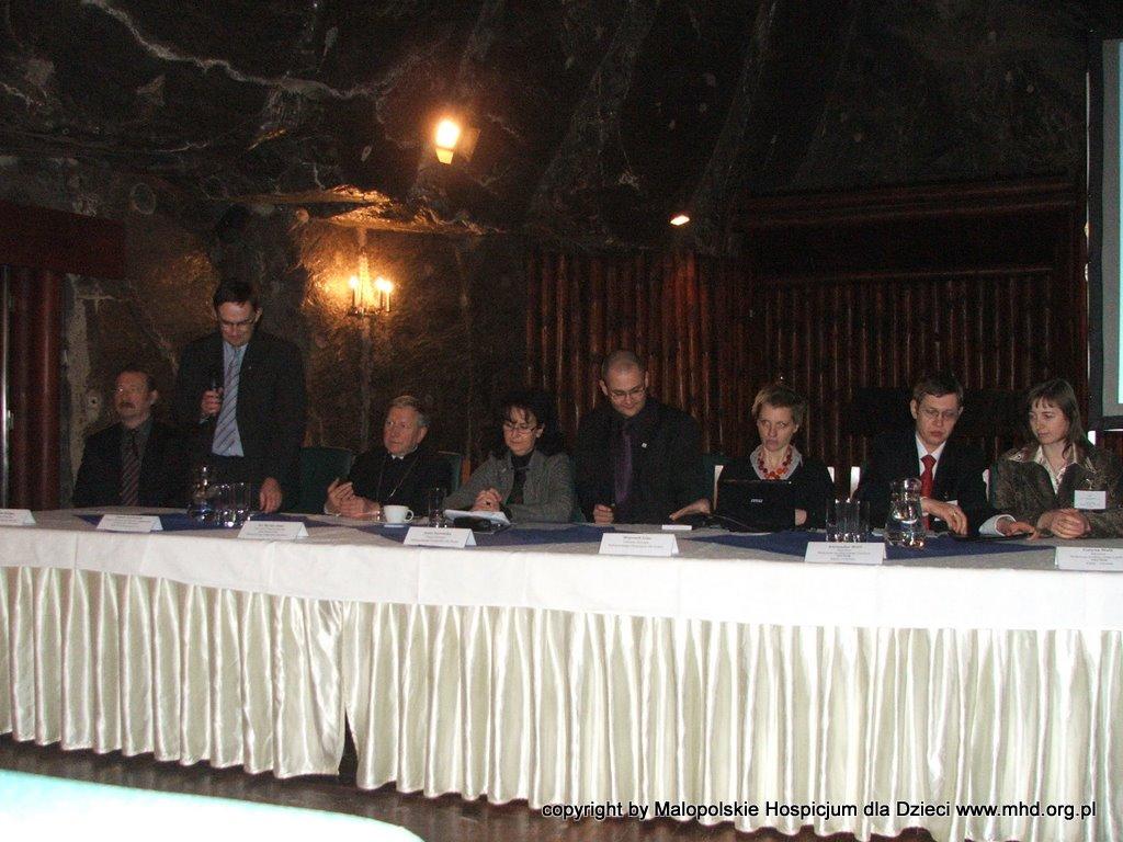 Konfrencja odbyła się 13.02.2010 roku w Kopalni Soli Wieliczka. Podpisaliśmy porozumienie powolujące Forum między MHD a ukraińskim NGO Vector.
