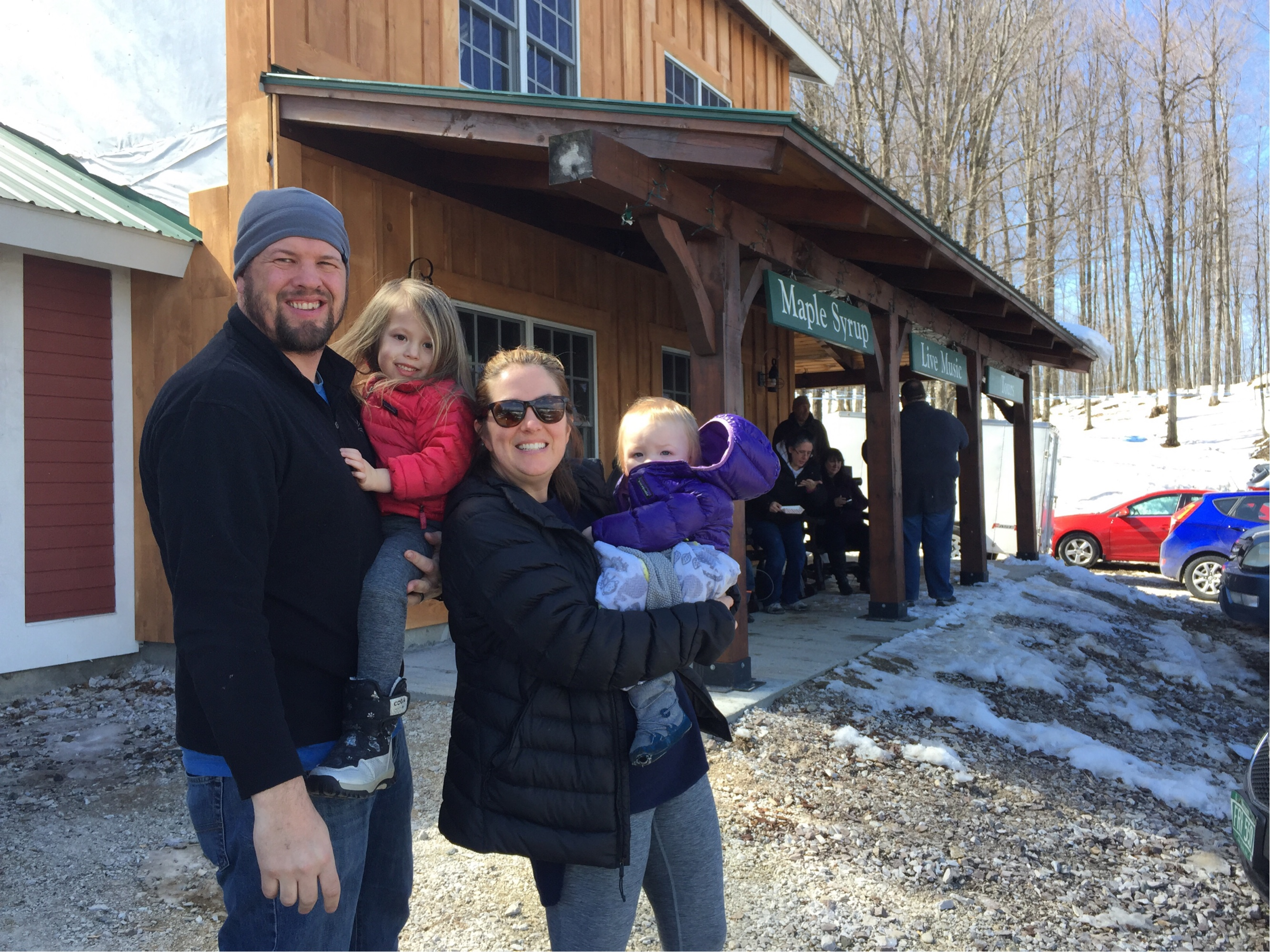 Joe & Colby's Sweetpea: Foster's First Sugar on Snow