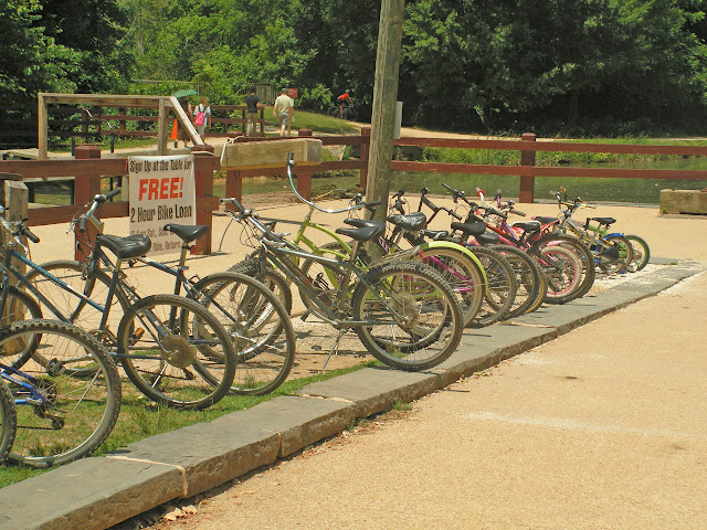 All servicable bikes maintained by volunteers