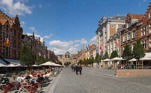 Oude Markt -Leuven, Belgium