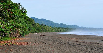 Photo: Then Playa Negra just outside the hotel is a proper playon
