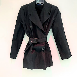 Givenchy Cropped  Belted Trench