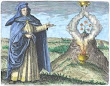 Maria The Jewess From Maier Symbola Aurea Mensae Franckfurt 1617
