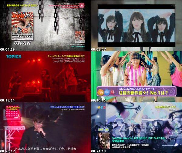 [TV-Variety] JAPAN COUNTDOWN – 2016.03.06