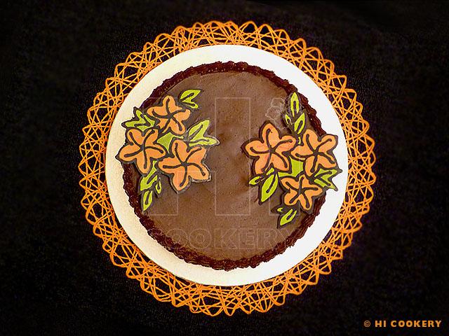 Chocolate Grand Marnier Cake