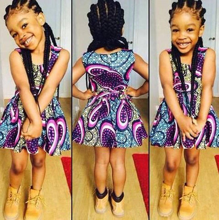 ankara clothing for children  (6)