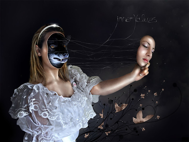 Put On A Mask, Black Magic