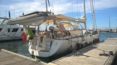 Y2K ormeggiata a IGY Marina Santa Marta - Colombia