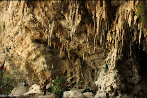 Lahoot Lamakan is a sacred and mysterious place famous for the shrine of Sufi Saint Shah Bilawal Noorani and the natural cave where it is being said that he used to go for prayers and spiritual healing. It is residing in District Khuzdar, Baluchistan and it is only 100 kms from Karachi
