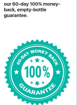 Promid Complex 100% money back guarantee.