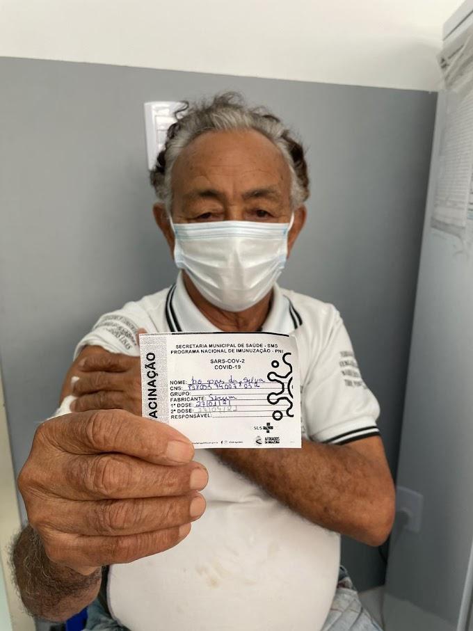 Em Afogados, prefeitura iniciou vacinação em idosos a partir de 85 anos