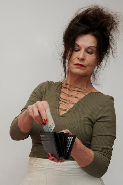 In de portemonnee om lekker  uit te geven