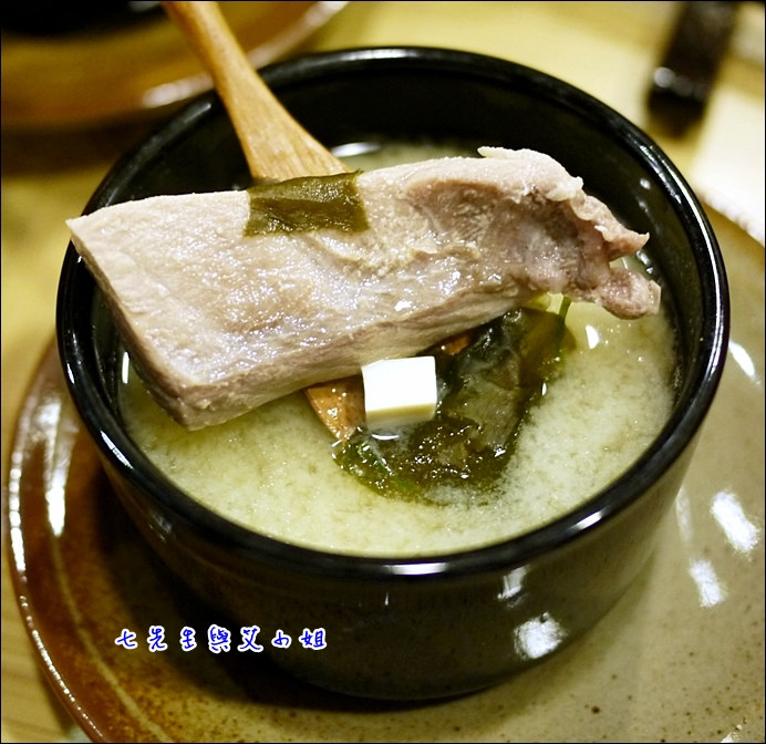 14 味噌湯