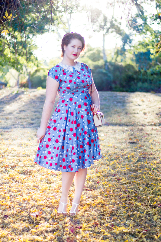 1940's inspired look for autumn, timeless style | Lavender & Twill