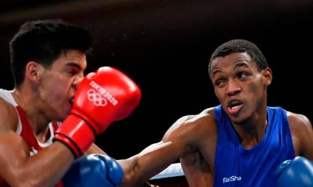 El boxeador dominicano Euri Cedeño logró su pase a cuartos de finales en Tokio