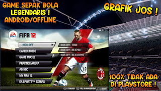 Download FIFA 12 PPSSPP Android Offline Best Graphics & Lisensi FIFPRO