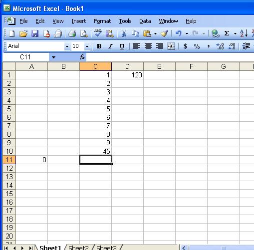 microsoft 2003 excel