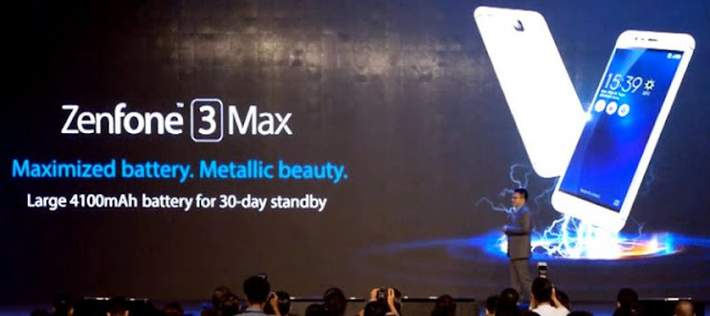 Specification and Price of Asus Zenfone 3 Max with 4100 mAh Capacity