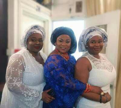 Sola Sobowale Poses With Her Thick Twin Daughters
