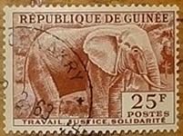 timbre Guinée 002