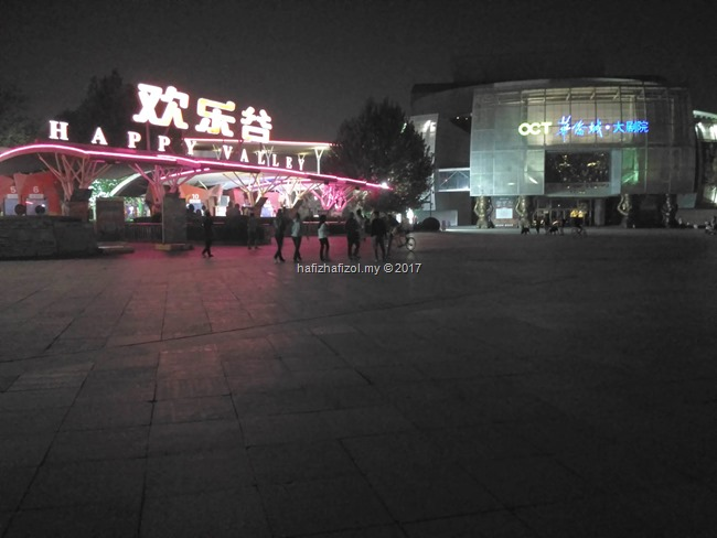 gambar di happy valley beijing