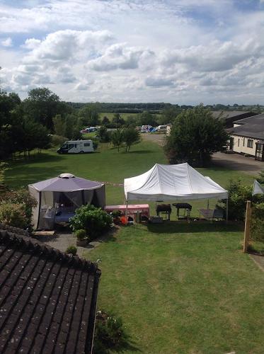 Silverstone Farm Campsite at Silverstone Farm Campsite