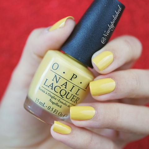 OPI Kerry Washington DC AW 2016 Never a Dulles moment