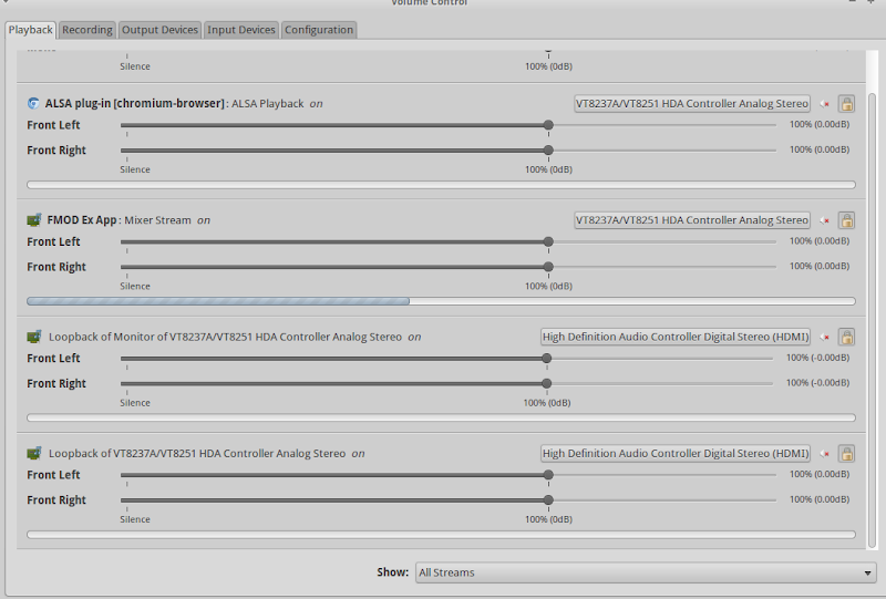 ubuntu] Streaming with ffmpeg to Twitch  Audio problem