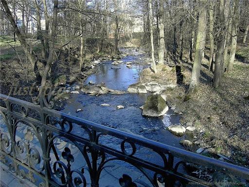 Ломоносов весна речка фото
